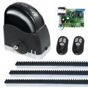 Kit Automatizador Deslizante Portão Eletrônico Slider Slim RCG