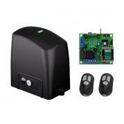 Kit Automatizador Deslizante RCG Motor Portão Eletrônico Slider Slim PL (S/ Cremalheira)
