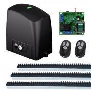 Kit Automatizador Deslizante RCG Motor Portão Eletrônico Slider Slim PL