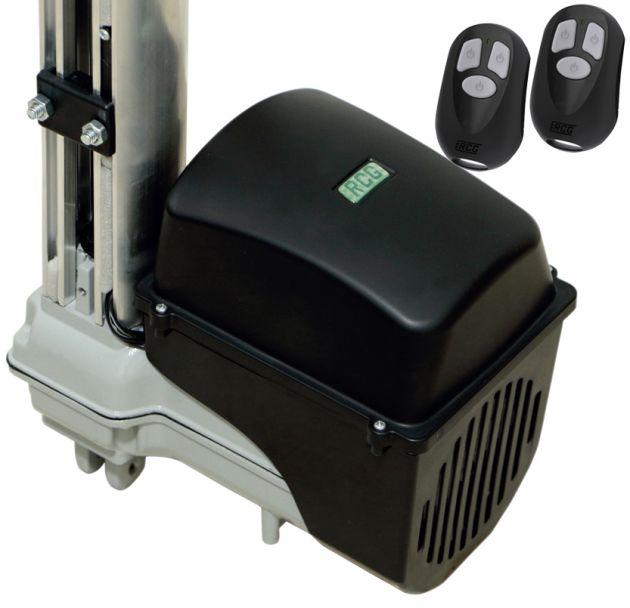 Kit Automatizador Motor de Portão Basculante 1/4 HP Taurus Maxi RCG
