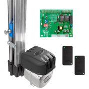 Kit Automatizador Semi-Industrial Basculante BV BL4 Rossi 1/3 HP Acionador 1,50m