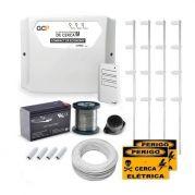 Kit Cerca Elétrica Completo P/ 120 Metros de Muro Central SMD Economy CR SecuriService