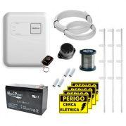 Kit Cerca Elétrica Intelbras Com Setor de Alarme Para 120 Metros de Muro