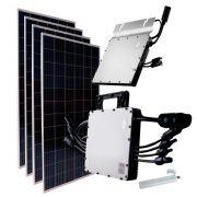 Kit Fotovoltaico Gerador de Energia Solar 2.04Kwp 244,8kwh Hoymiles
