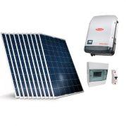 Kit Gerador de Energia Solar Fotovoltaico 3,2KW Completo