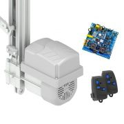 Kit Motor Automatizador Basculante 2000 Flash Peccinin 1/3 HP Com Braço Acionador de 1,75 Metros