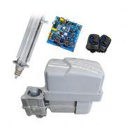 Kit Motor Automatizador Basculante 2000 Flash Peccinin 1/3 HP Com Braço Acionador de 2 Metros