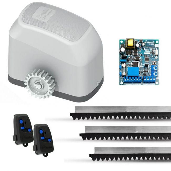 Kit Motor Automatizador Portão Eletrônico Deslizante Fast Gatter 3050 Peccinin