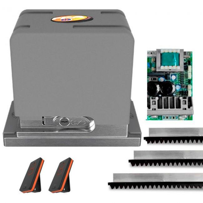 Kit Motor de Portão PPA DZ Cube 650 Jet Flex Automatizador Deslizante Rápido
