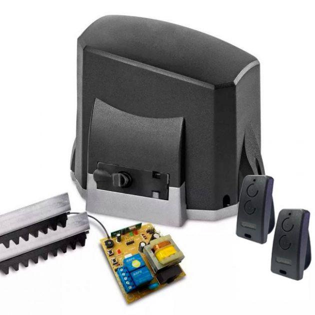 Kit Motor Portão Eletrônico 1/4 HP Automatizador Deslizante KDZ FIT Garen
