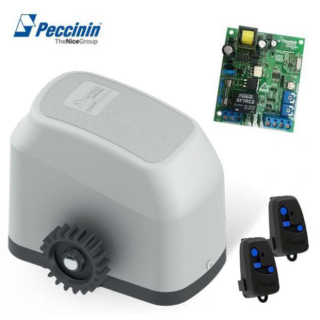 Motor Automatizador Portão Eletrônico Deslizante Gatter 3000 - Peccinin (s/ cremalheiras)