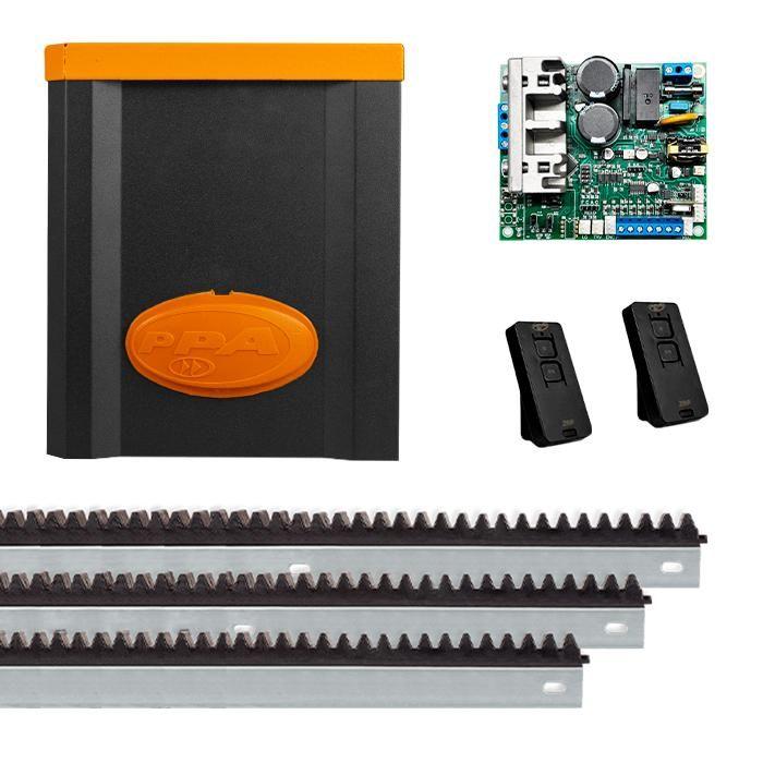2405a725a56 Motor de Portão Automatizador Deslizante Eurus Steel 1 2 HP Jet Flex ...