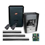 Kit Motor de Portão Eletrônico Deslizante Com NoBreak DZ Rio Jet Flex BLDC Hard Working PPA