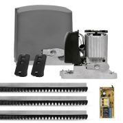 Motor de Portão Kit Automatizador Deslizante Custom DZ Rio Turbo 1/4 HP - PPA