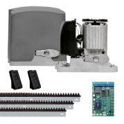 Motor de Portão Kit Automatizador Deslizante DZ Rio Turbo 1/4 HP - PPA