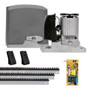 Motor de Portão PPA Kit Automatizador Deslizante 1/3 HP DZ Rio 500 KL