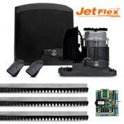 Kit Automatizador Motor de Portão Rápido 1/2 HP Deslizante PPA DZ Rio 800 Jet Flex BLDC