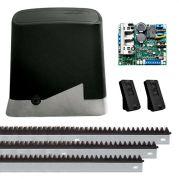 Motor de Portão Rápido Kit Automatizador Deslizante DZ Home 1/4 HP Jet Flex PPA