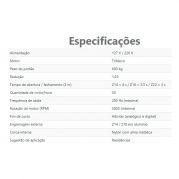 Motor de Portão Rápido Kit Automatizador Deslizante DZ Rio Turbo 1/3 HP Jet Flex PPA