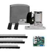 Motor de Portão Rápido Kit Automatizador Deslizante DZ Rio Turbo 1/4 HP Jet Flex PPA