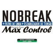 No Break + Filtro de Linha + Estabilizador de Tensão MAX Control de 1450VA - RCG