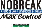 No Break + Filtro de Linha + Estabilizador de Tensão MAX Control de 700VA - RCG