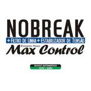 No Break + Filtro de Linha + Estabilizador de Tensão MAX Control de 900VA - RCG