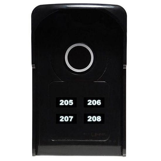 Porteiro Eletrônico Coletivo 4 Pontos c/ Teclas Touch LR 5504 - Lider