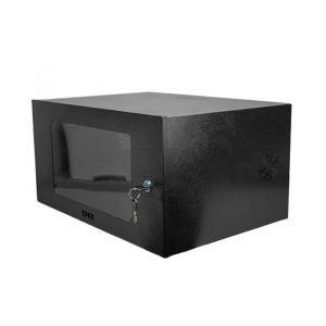 "Rack 5U Gabinete 19"" Onix Security 50cm x 35cm x 25cm Preto"