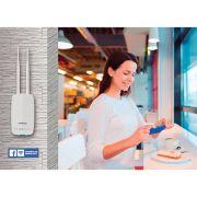 Roteador Wireless HotSpot 300 Intelbras - Acesso a Sua Rede WIFI c/ Check-in No Facebook