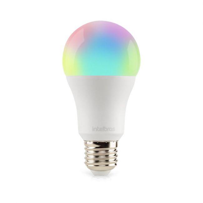 Smart Lâmpada LED Wi-Fi EWS 410 Intelbras
