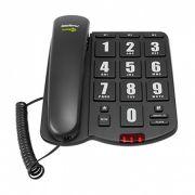 Telefone Com Fio Áudioplus Com Áudio Amplificado - Intelbras