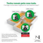 Telefone Sem Fio Digital TS 3110 Intelbras