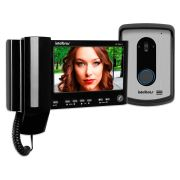 """Vídeo Porteiro Intelbras IV 7010 HS LCD Colorido de 7"""" - Preto"""