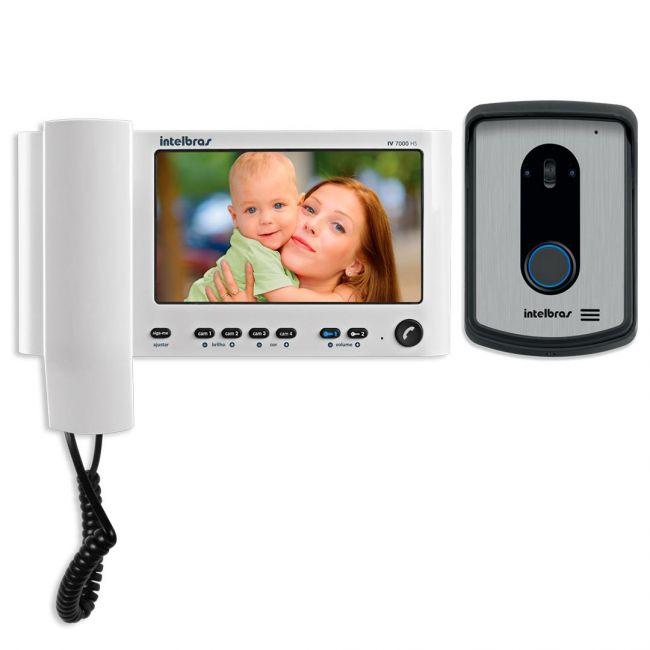"""Vídeo Porteiro Intelbras IV 7010 HS LCD Colorido de 7"""""""