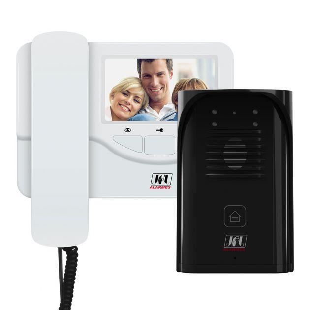 """Vídeo Porteiro JFL Com Tela LCD de 4,3"""" VP-400"""