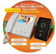 """Vídeo Porteiro LCD Colorido Com Tela 4.3"""" Lider Smart LR4500"""