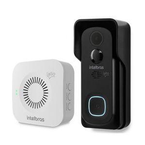Videoporteiro Wi-Fi Allo W5+ Intelbras Totalmente Sem Fio Com Abertura de Fechaduras